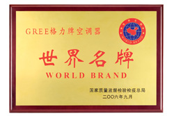 World Brand General Administration of Quality Supervision, Inspection and Quarantine of the PRC, China Top Brand Strategy Promotion Committee